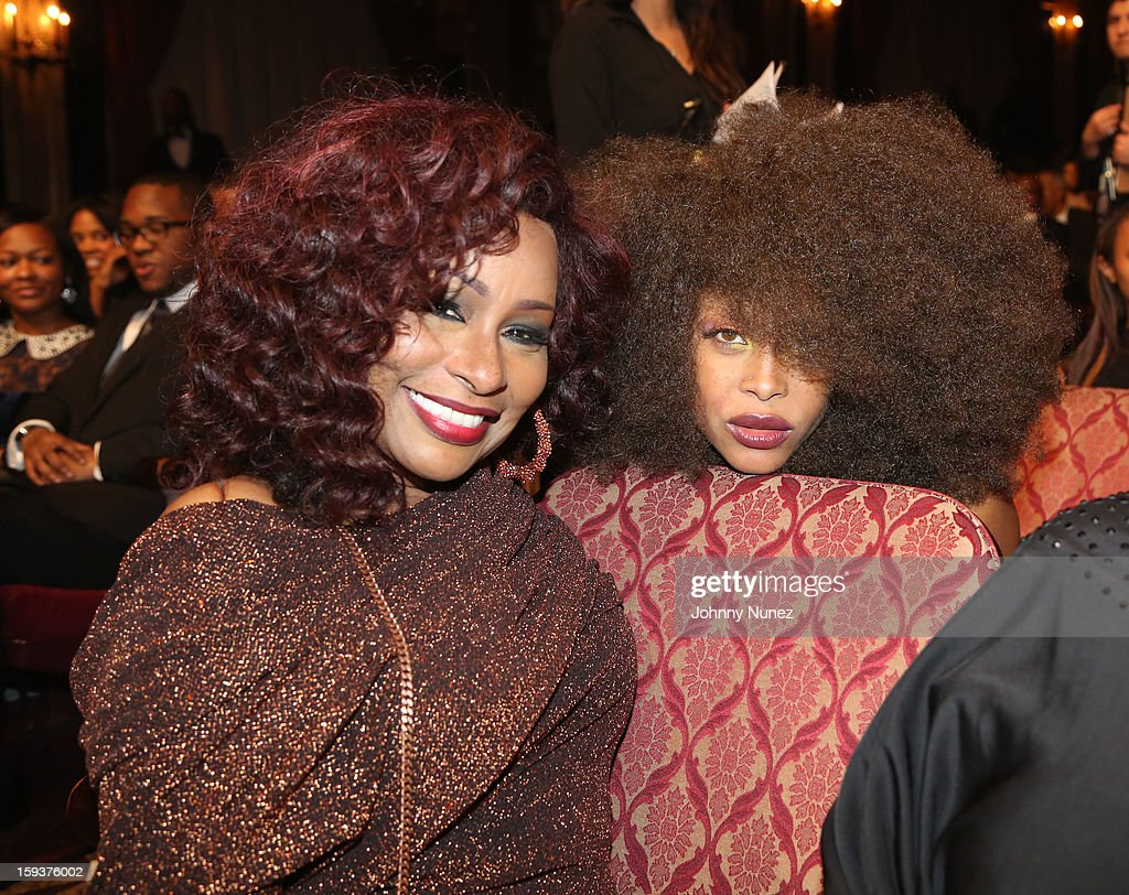<a gi-track='captionPersonalityLinkClicked' href=/galleries/search?phrase=Chaka+Khan&family=editorial&specificpeople=208691 ng-click='$event.stopPropagation()'>Chaka Khan</a> and <a gi-track='captionPersonalityLinkClicked' href=/galleries/search?phrase=Erykah+Badu&family=editorial&specificpeople=224744 ng-click='$event.stopPropagation()'>Erykah Badu</a> attend BET Honors 2013 at Warner Theatre on January 12, 2013 in Washington, DC.