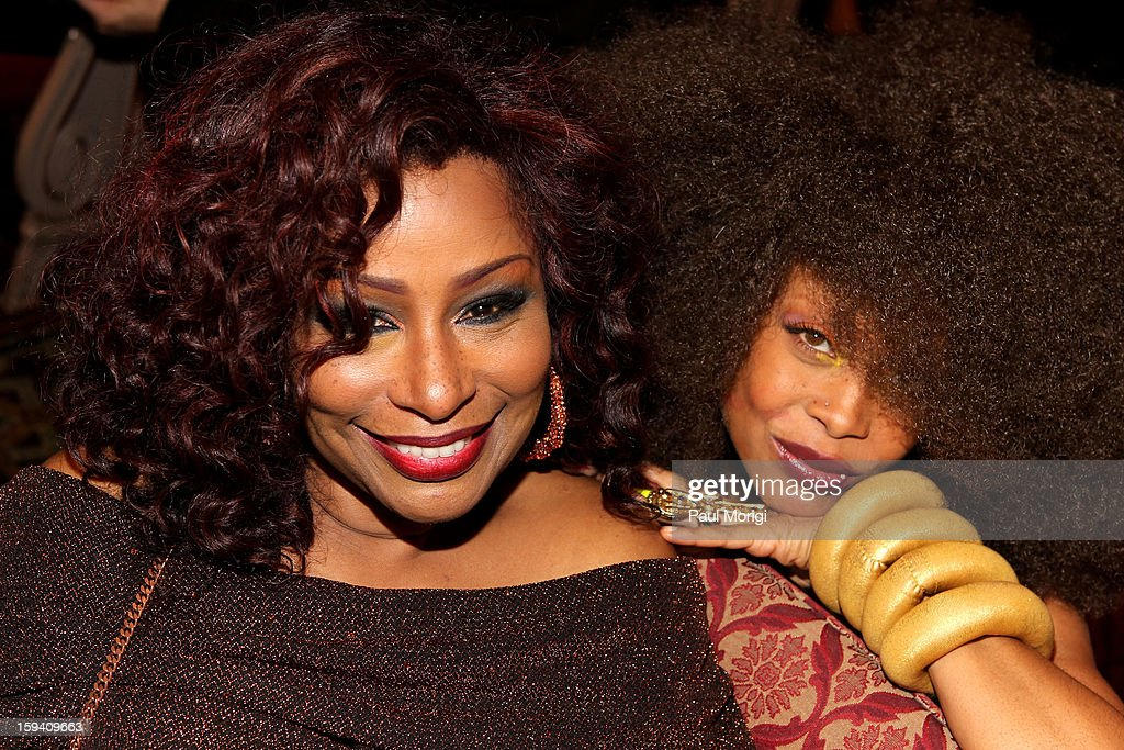 Chaka Khan, and Erykah Badu attend BET Honors 2013 at Warner Theatre on January 12, 2013 in Washington, DC.