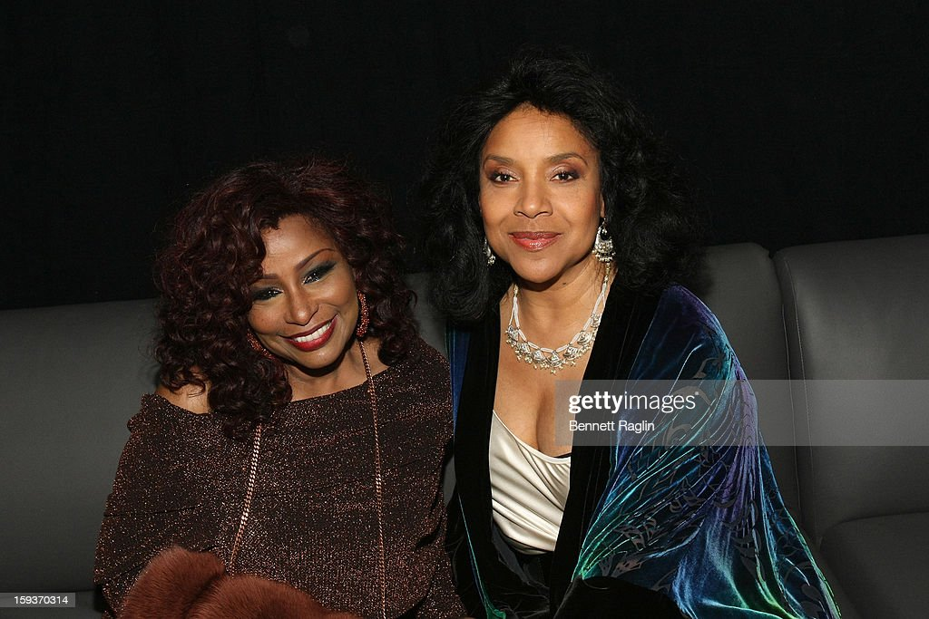 Chaka Khan and Phylicia Rashad attend BET Honors 2013: Backstage at Warner Theatre on January 12, 2013 in Washington, DC.