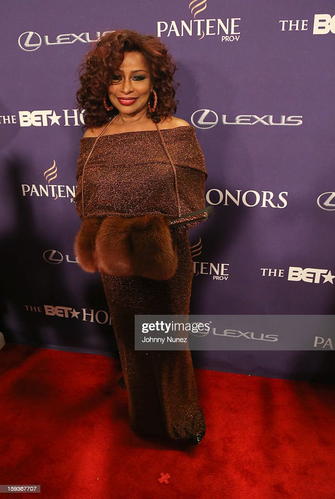<a gi-track='captionPersonalityLinkClicked' href=/galleries/search?phrase=Chaka+Khan&family=editorial&specificpeople=208691 ng-click='$event.stopPropagation()'>Chaka Khan</a> attends BET Honors 2013 at Warner Theatre on January 12, 2013 in Washington, DC.