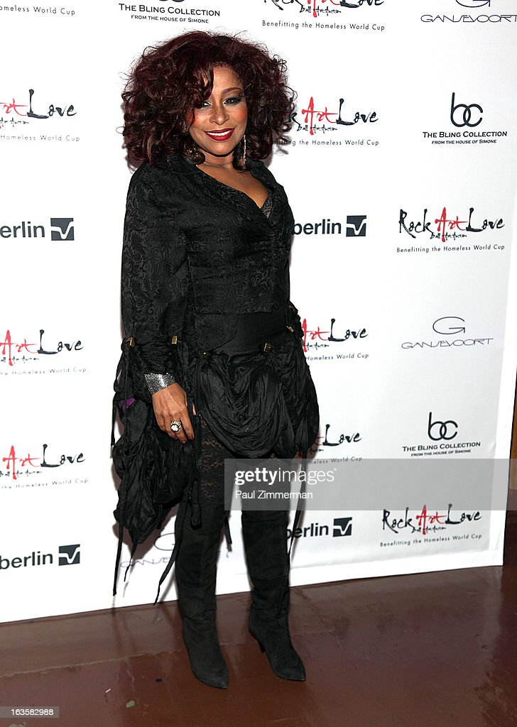 Chaka Khan attends ROCK ART LOVE at The Angel Orensanz Foundation on March 12, 2013 in New York City.