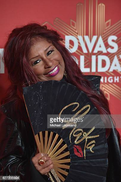 Chaka Khan attends the 2016 VH1's Divas Holiday Unsilent Night at Kings Theatre on December 2 2016 in New York City
