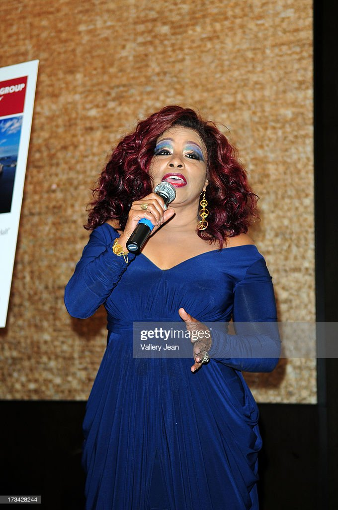Chaka Khan attends The 9th Annual Success Summit hosted by Dress For Success Worldwide at Epic Hotel on July 13, 2013 in Miami, Florida.