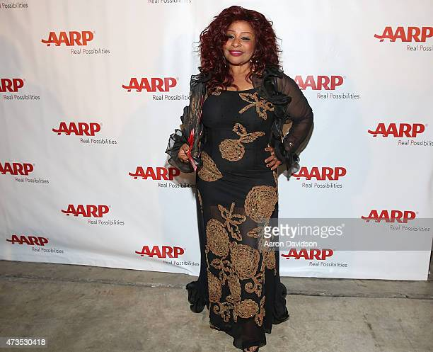 Chaka Khan attends the AARP Superstar 2015 finale at AARP Life@50 Expo at the Miami Beach Convention Center on May 15 2015 in Miami Beach Florida