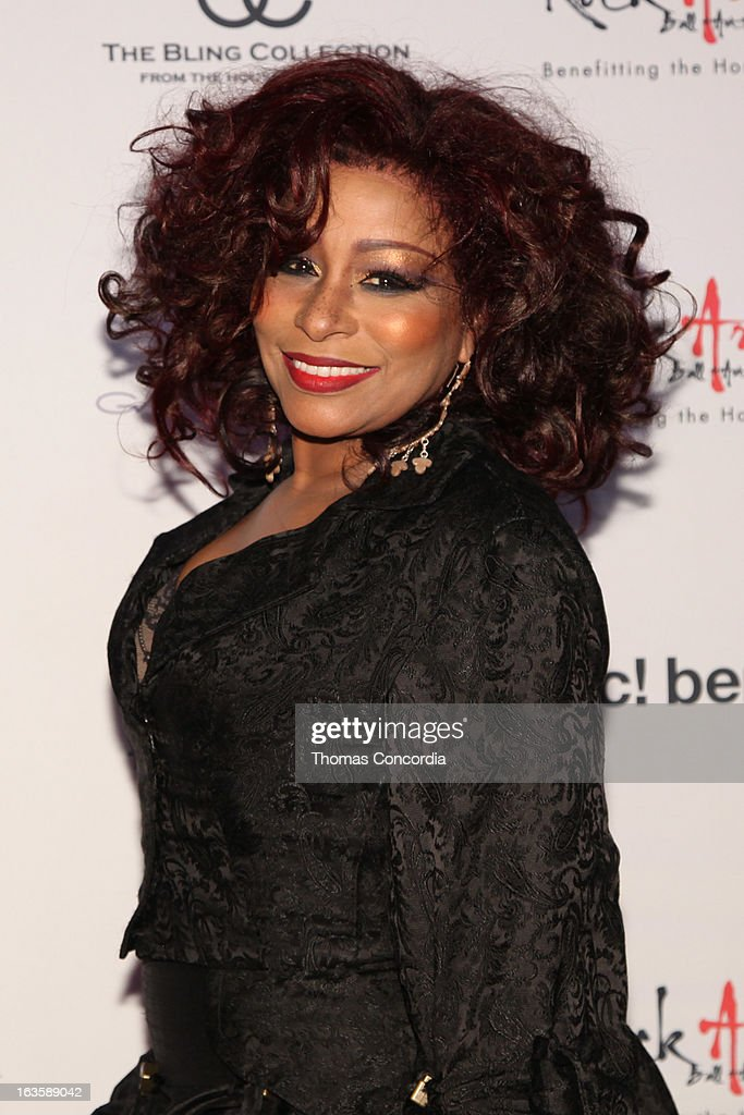 Chaka Khan attends the Rock Art Love Ball on March 12, 2013 in New York City.
