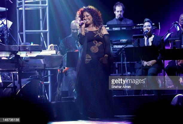 Chaka Khan performs at the 7th annual Apollo Spring Gala Benefit at The Apollo Theater on June 4 2012 in New York City