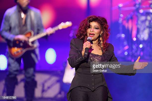 Chaka Khan performs at the GQ Men of the Year Award at the Komische Oper on October 26 2012 in Berlin Germany