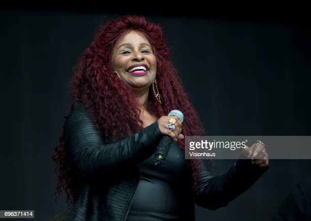 Chaka Khan performs at The Parklife Festival 2017 at Heaton Park on June 10 2017 in Manchester England