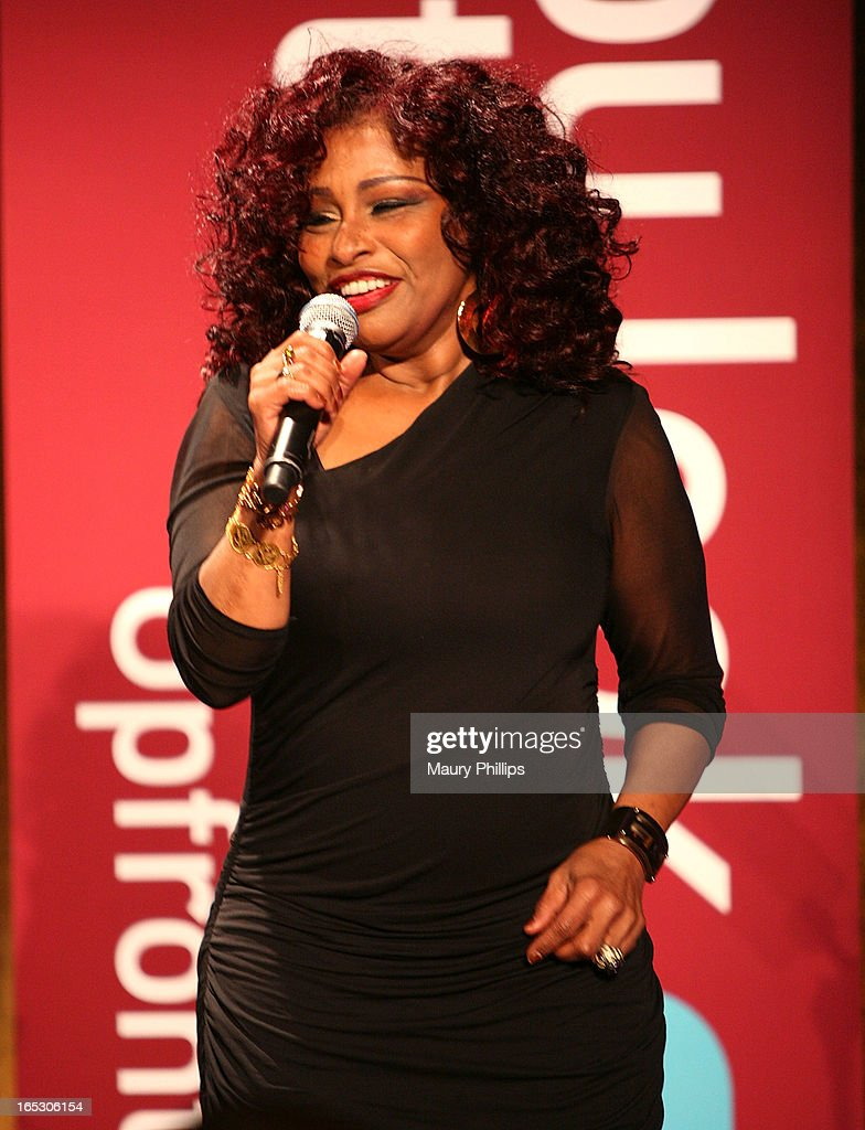 Chaka Khan performs during BET Networks 2013 Los Angeles Upfront at Montage Beverly Hills on April 2, 2013 in Beverly Hills, California.