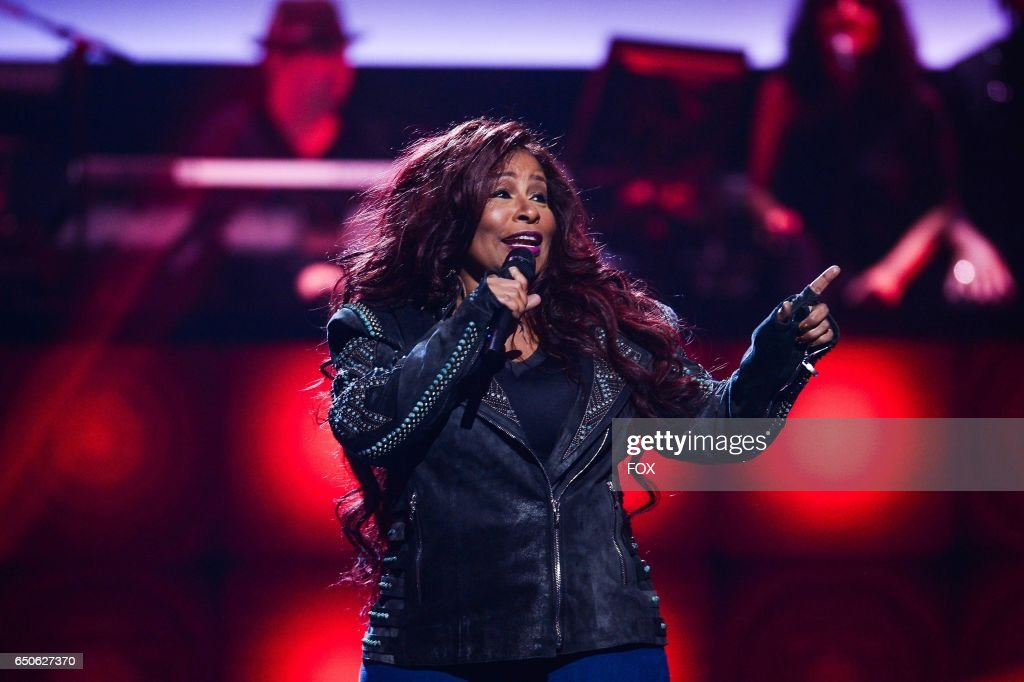 Chaka Khan performs onstage at the Apollo Theater for SHOWTIME AT THE APOLLO airing Wednesday, Feb. 1 (8:00-90:00 PM ET/PT) on FOX.