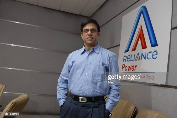 P Chalasani CEO at Reliance Power photographed in his office in Navi Mumbai