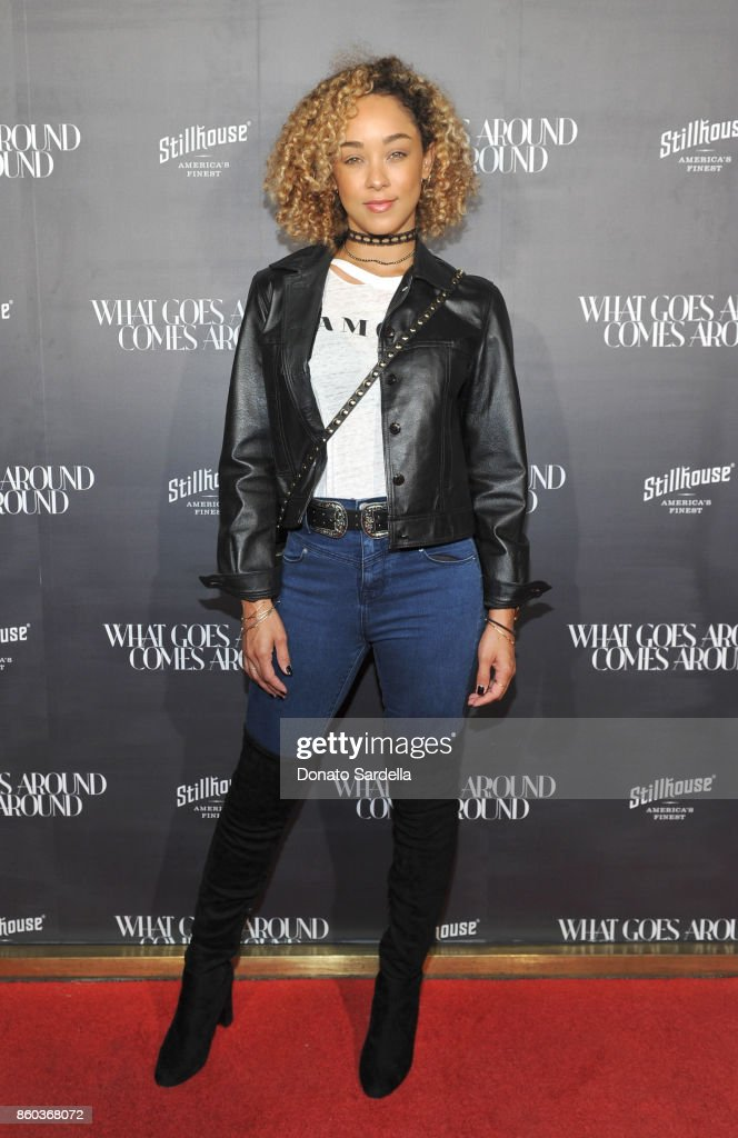 Chaley Rose at What Goes Around Comes Around Beverly Hills Anniversary on October 11, 2017 in Beverly Hills, California.