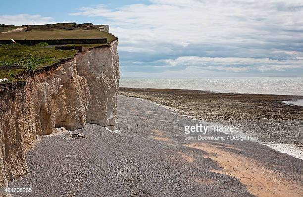 Chalk Cliff And Beach