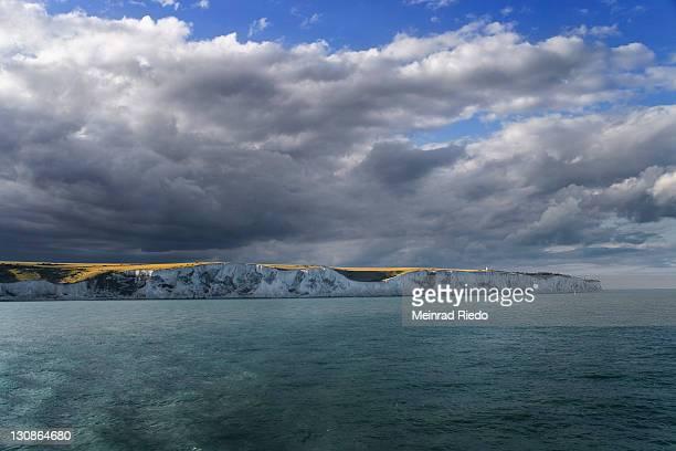 Chalk Cliffs near Dover, Kent, England, Great Britain, Europe