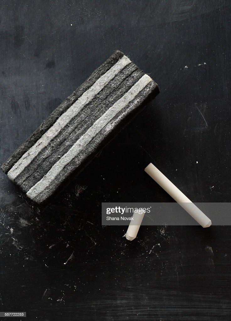 Chalk With Eraser : Photo
