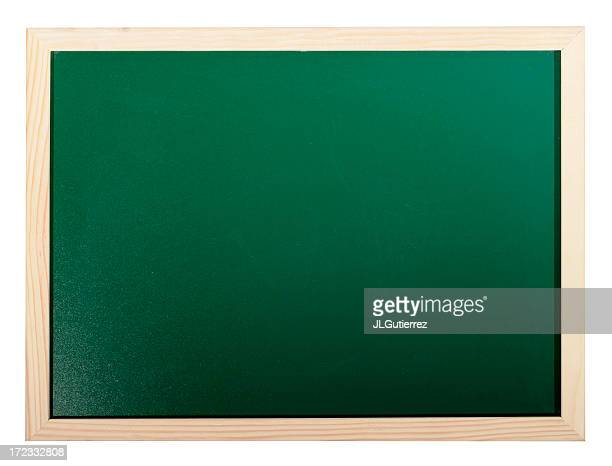 Chalkboard isolé sur blanc
