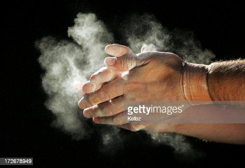 Chalking Hands