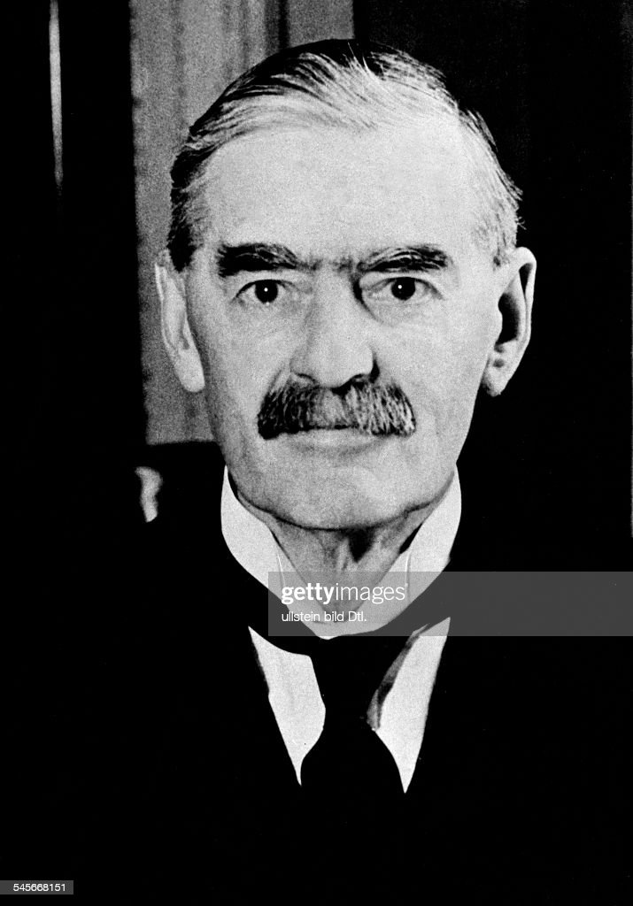 an analysis of the british prime minister neville chamberlain During this situation, the british prime minister, neville chamberlain image : cn 11/6 – neville chamberlain in france source 1 : fo 371/21737.