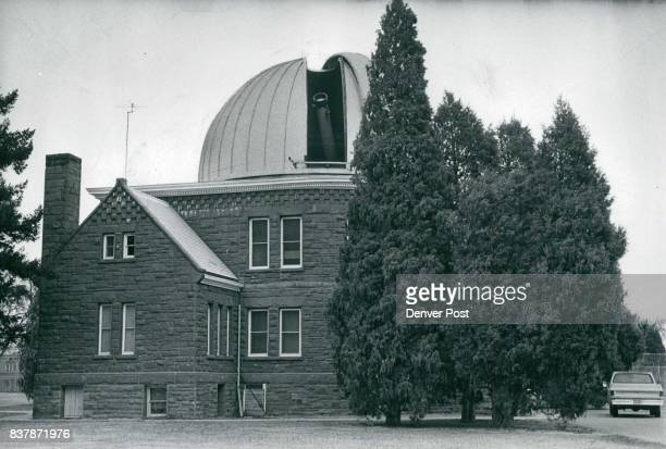 Chamberlin Observatory Telescope ***** At Sky Through Dome Observatory gift of Humphrey Chamberlin houses 84yearold refracting telescope Credit...