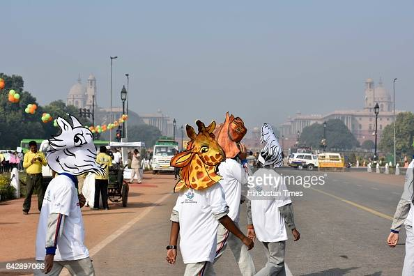 Chambers of Commerce and Industry organized a Swachh Paryavaran walk at Rajpath in the presence of Minister of State Ministry of Information and...
