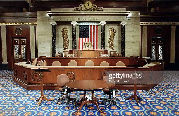 CHAMBERThe Speaker's well on the House floor