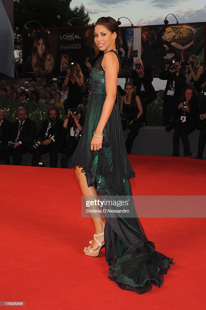 Chamina Bacco attends 'Tracks' Premiere during the 70th Venice International Film Festival at Sala Grande on August 29, 2013 in Venice, Italy.