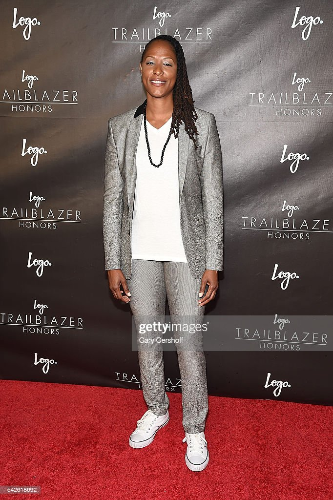 Chamique Holdsclaw attends 2016 Logo's Trailblazer Honors at Cathedral of St John the Divine on June 23 2016 in New York City