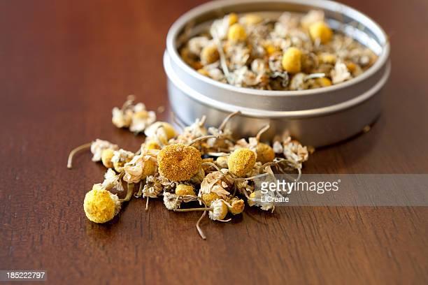 Tè alla camomilla fiori