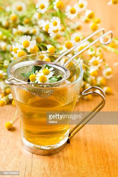 Chamomile tea infusion