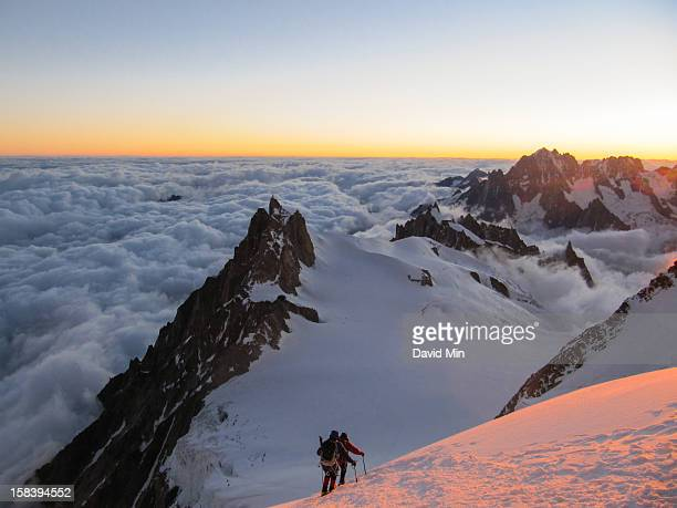 Chamonix, Mont-Blanc - Above the Clouds, Sunrise