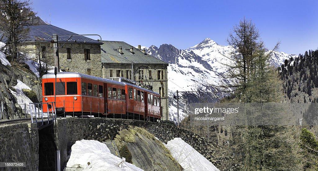 Chamonix - Montenvers train in french Alps