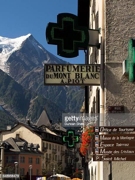 Chamonix town