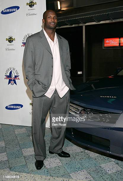 Champ Bailey Defensive Back for the Denver Broncos and honoree at the NFL Alumni Player of the Year Awards at the Hard Rock Casino in Hollywood...