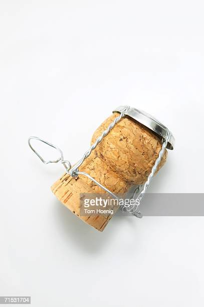 Champagne cork, close-up