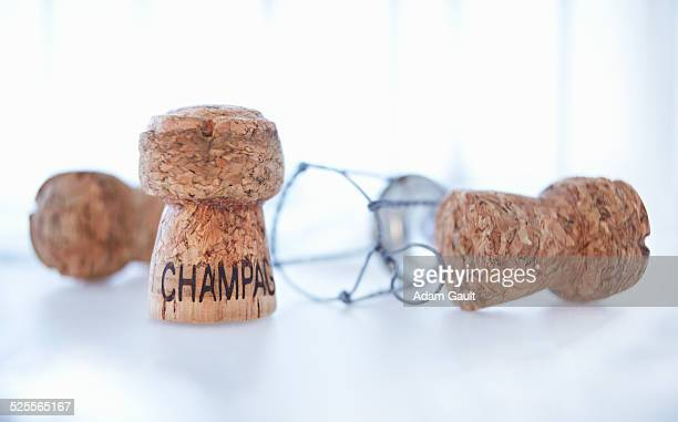 Champagne Corks and Cage Agraffe Muselet