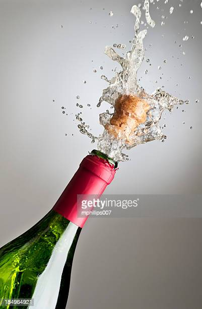 Champagne Exploding