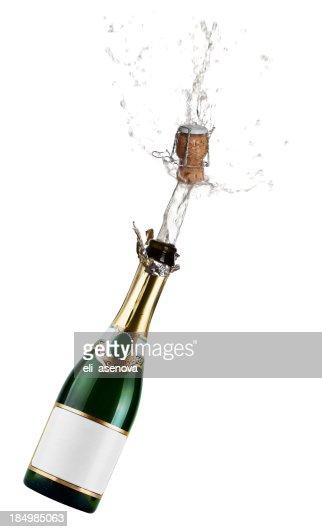 Champagner Exsplosion