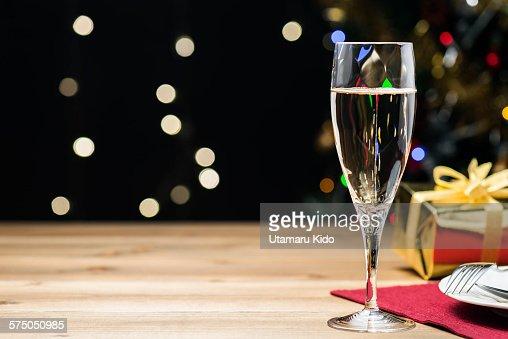 Champagne glass.