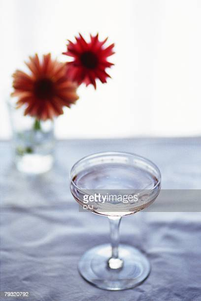 Champagne, High Angle View, Differential Focus