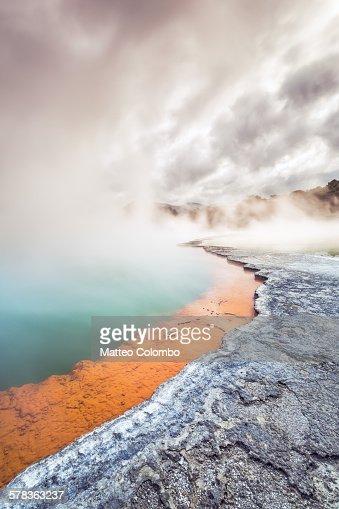 Champagne pool, Rotorua thermal reserve