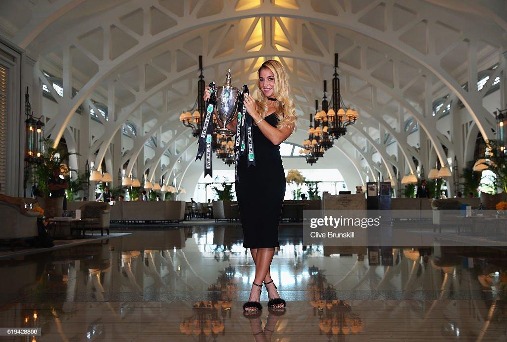 BNP Paribas WTA Finals: Singapore 2016 - Dominika Cibulkova Photocall