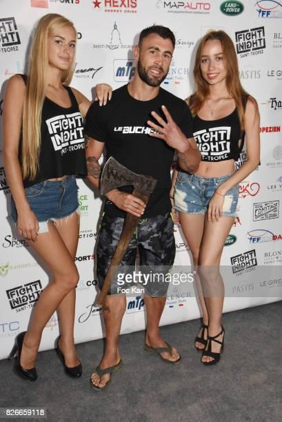 Champion Yohan Lindon attends the Fight Night Gala at La Citadelle de Saint Tropez on August 4 2017 in SaintTropez France