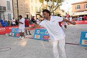 Trophee Senequier Petanque competition at Saint-Tropez...