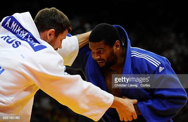 Championnat du Monde de Judo 2011 Finale des 100KG Alexander Mikhaylin vs Oscar Brayson