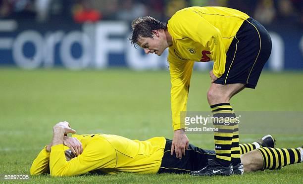 Champions League 02/03 Dortmund Borussia Dortmund Real Madrid 11 Jan KOLLER Christian WOERNS/Dortmund
