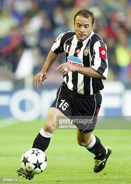 Champions League 02/03 Madrid Real Madrid Juventus Turin 21 Alessandro BIRINDELLI/Juve