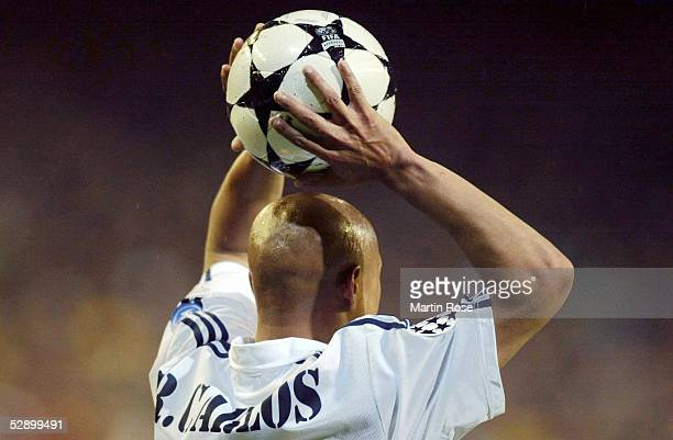 Champions League 02/03 Madrid Real Madrid Juventus Turin 21 Roberto CARLOS/Madrid