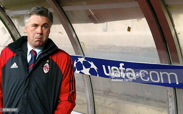 Champions League 02/03 Mailand AC Mailand Borussia Dortmund 01 Trainer Carlo ANCELOTTI/Mailand