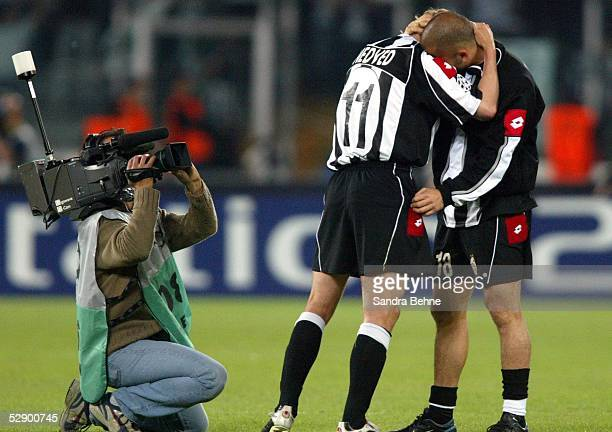 Champions League 02/03 Turin Juventus Turin Real Madrid 31 Pavel NEDVED Marco DI VAIO/Juventus