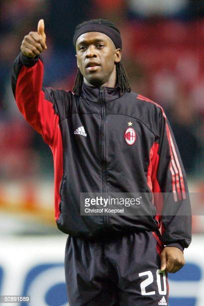 Champions League 02/03 Viertelfinale Amsterdam Ajax Amsterdam AC Mailand 00 Clarence SEEDORF/Mailand